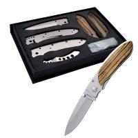 Nůž BALADEO ECO195 Riviera - stavebnice - Stavebnice BALADÉO - jedinečná šance složit si svůj nůž do posledního šroubku. Rytina s věnováním na čepeli nože.