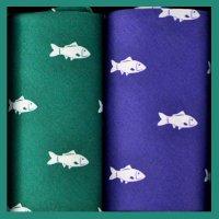 Kapesníky pánské 2ks, ryba - 100% bavlněné kapesníky s tématickým popisem.