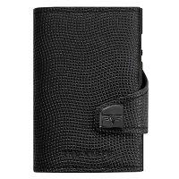 Peňaženka TRU Virt Click & Slide Black Lizard - Exkluzívna peňaženka ako súčasť imidžu aj praktický pomocník. Gravírujeme presným vláknovým laserom. Tovar skladom, expedícia do 24h.