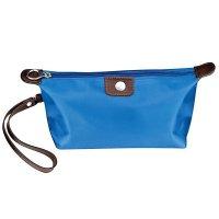 Taška kozmetická modrá - Kozmetická taška s možnosťou personifikácie. Skladom, okamžitá expedícia.