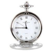 Vreckové otváracie hodinky David Aster, strieborné - Vreckové hodinky z doby, kedy sa ešte neponáhľalo. Gravírujeme podľa vášho zadania! Presne, rýchlo, kvalitne. Tovar skladom, expedícia do 24h.