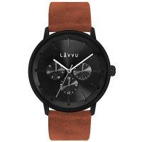 Hodinky LAVVU TROMSØ Cedar Brown, pánske - Špičkové pánske náramkové hodinky. Gravírujeme podľa vášho zadania! Presne, rýchlo, kvalitne. Tovar skladom, expedícia do 24h.