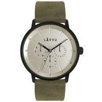 Hodinky LAVVU TROMSØ Army White, pánske - Špičkové pánske náramkové hodinky. Gravírujeme podľa vášho zadania! Presne, rýchlo, kvalitne. Tovar skladom, expedícia do 24h.