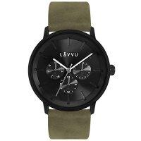 Hodinky LAVVU TROMSØ Army Black, pánske - Špičkové pánske náramkové hodinky. Gravírujeme podľa vášho zadania! Presne, rýchlo, kvalitne. Tovar skladom, expedícia do 24h.