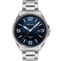 Hodinky LAVVU HERNING Blue, pánske - Špičkové pánske náramkové hodinky. Gravírujeme podľa vášho zadania! Presne, rýchlo, kvalitne. Tovar skladom, expedícia do 24h.