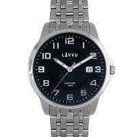 Hodinky LAVVU NARVIK Blue, pánske - Špičkové pánske náramkové hodinky. Gravírujeme podľa vášho zadania! Presne, rýchlo, kvalitne. Tovar skladom, expedícia do 24h.