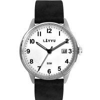 Hodinky LAVVU GÖTEBORG White, pánske - Špičkové pánske náramkové hodinky. Gravírujeme podľa vášho zadania! Presne, rýchlo, kvalitne. Tovar skladom, expedícia do 24h.