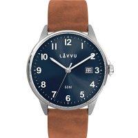Hodinky LAVVU GÖTEBORG Blue, pánske - Špičkové pánske náramkové hodinky. Gravírujeme podľa vášho zadania! Presne, rýchlo, kvalitne. Tovar skladom, expedícia do 24h.