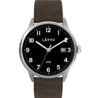 Hodinky LAVVU GÖTEBORG Black, pánske - Špičkové pánske náramkové hodinky. Gravírujeme podľa vášho zadania! Presne, rýchlo, kvalitne. Tovar skladom, expedícia do 24h.