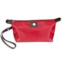 Taška kozmetická červená - Kozmetická taška s možnosťou personifikácie. Skladom, okamžitá expedícia.