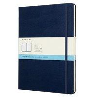Zápisník MOLESKINE bodkovaný T/XL modrý