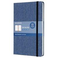 Zápisník MOLESKINE DENIM L světle modrý